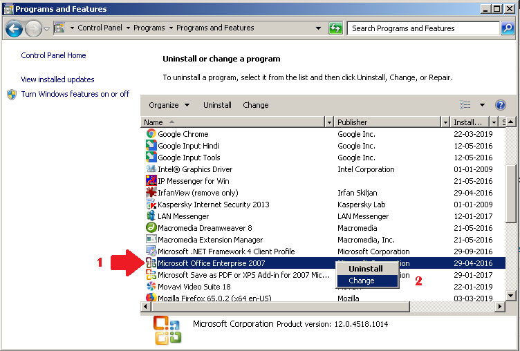 How to Disable Microsoft Outlook in Windows 10/7