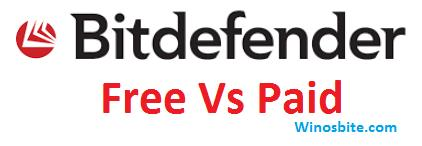 Bitdefender - free vs paid