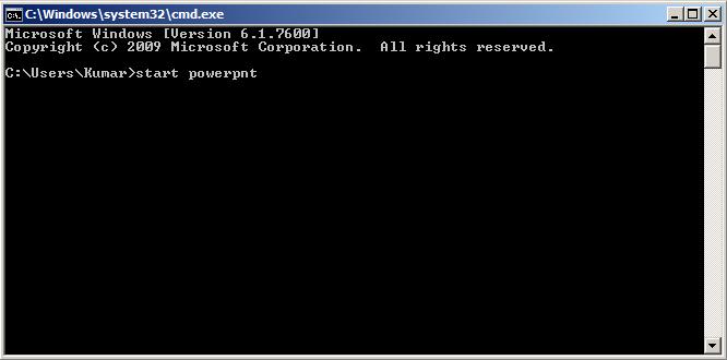 CMD для powerpoint