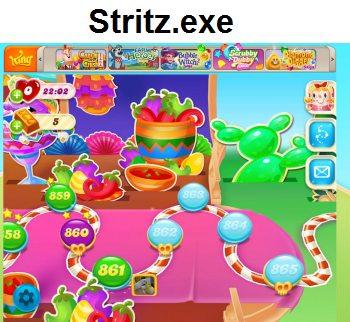 Stritz.exe - игра Candy Rush