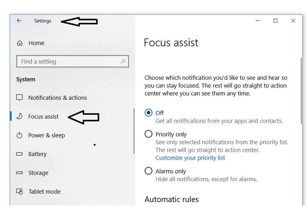 Windows Focus помогает советам