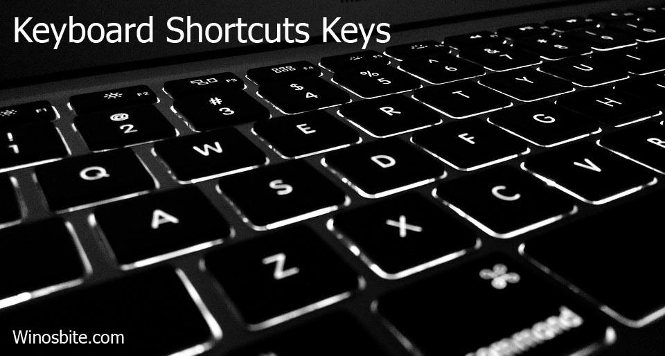 Сочетания клавиш на компьютерной клавиатуре Windows