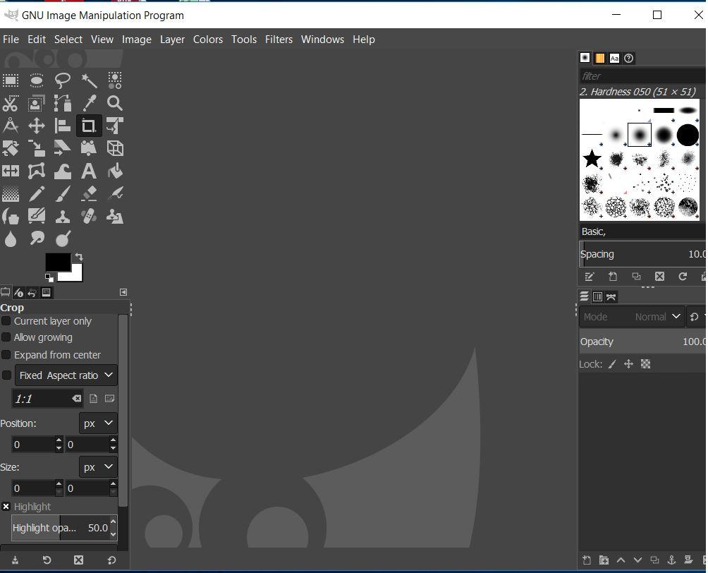 образ программного обеспечения gIMP