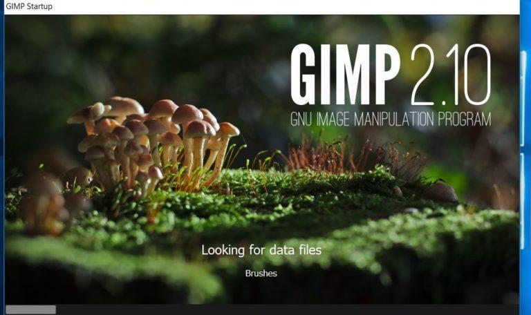 изображение программного обеспечения gimp