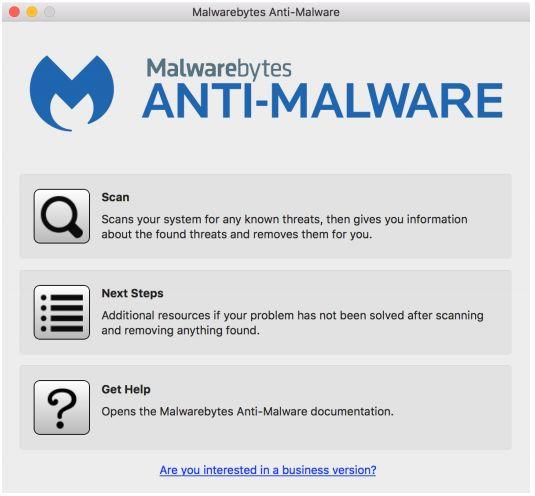 Malwarebytes для поиска вредоносного ПО