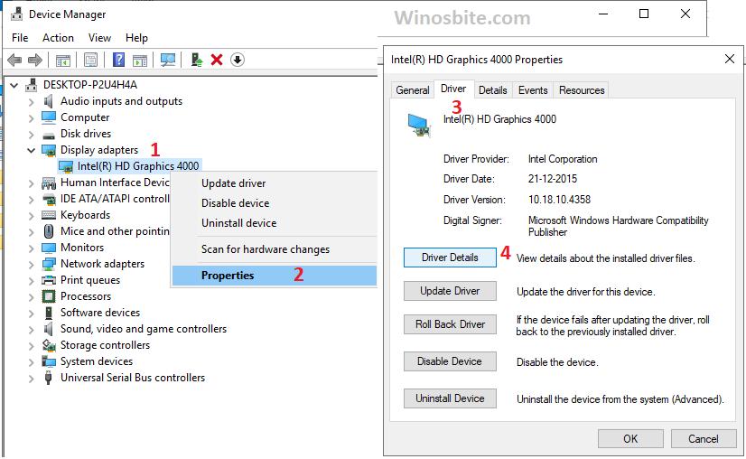 Обновите драйвер устройства в Windows 10, чтобы исправить 0xc0000142.