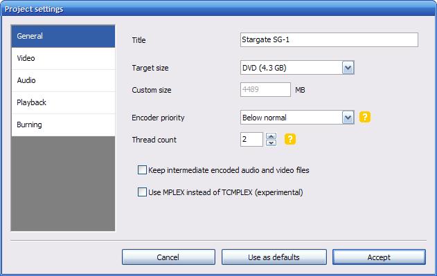 DVD Flick - это бесплатное программное обеспечение для записи CD и DVD на ПК с Windows.