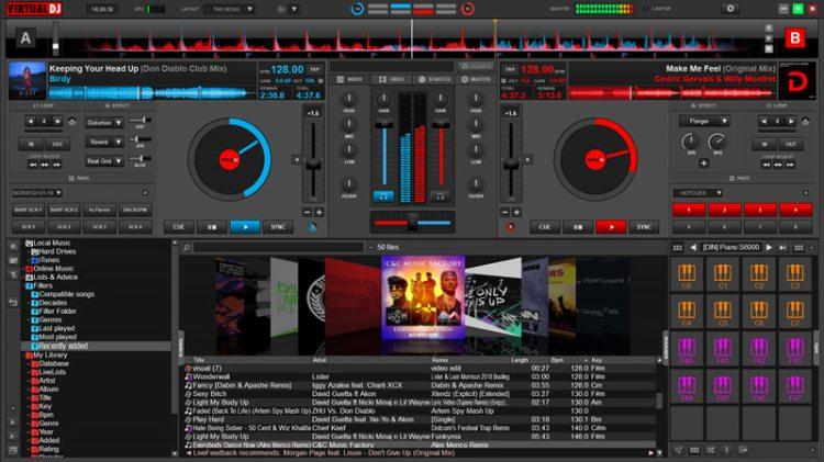 Виртуальный DJ
