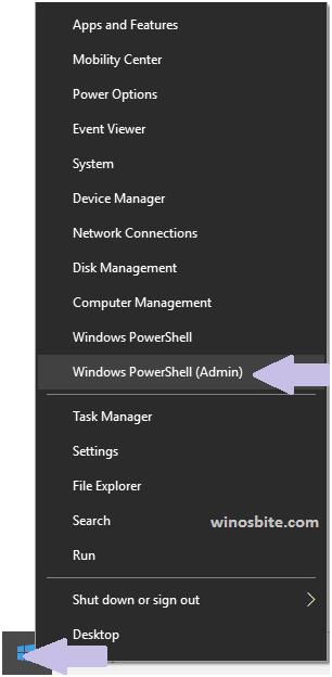 Администратор Windows PowerShell