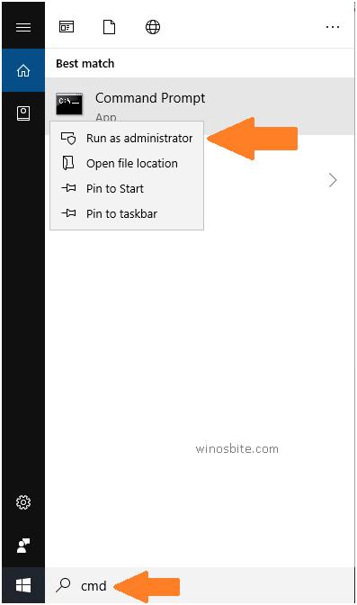 Командная строка Windows10 от имени администратора
