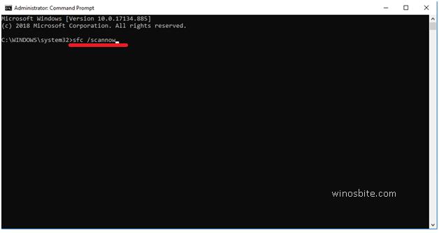 Сканирование sfc команды Windows10 сейчас