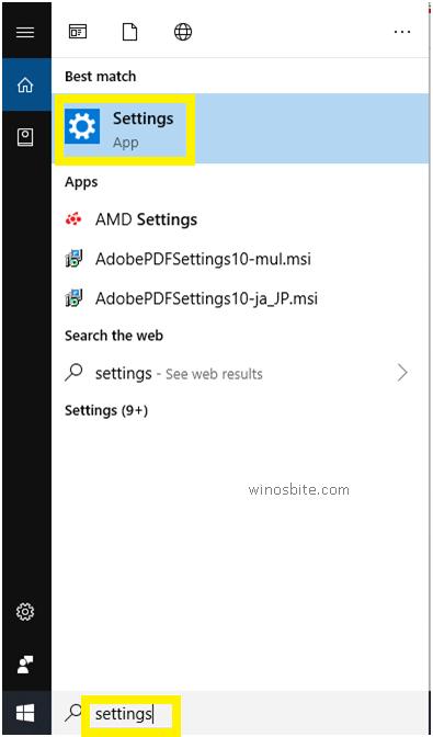 Панель поиска Windows10
