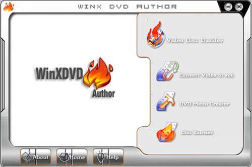 Winxdvd - еще одна бесплатная программа для записи DVD
