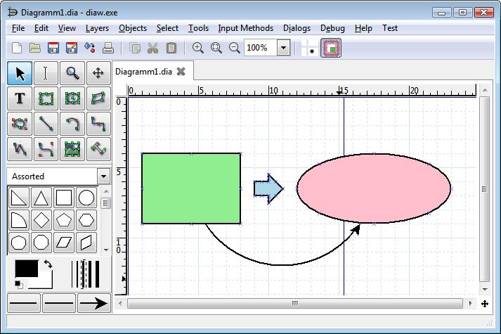 Программный инструмент DIA