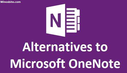 Альтернативное программное обеспечение Microsoft Onenote