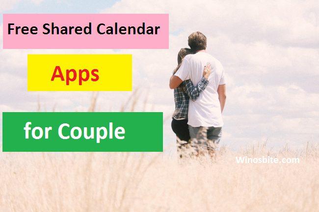 Список лучших общих календарей для пар
