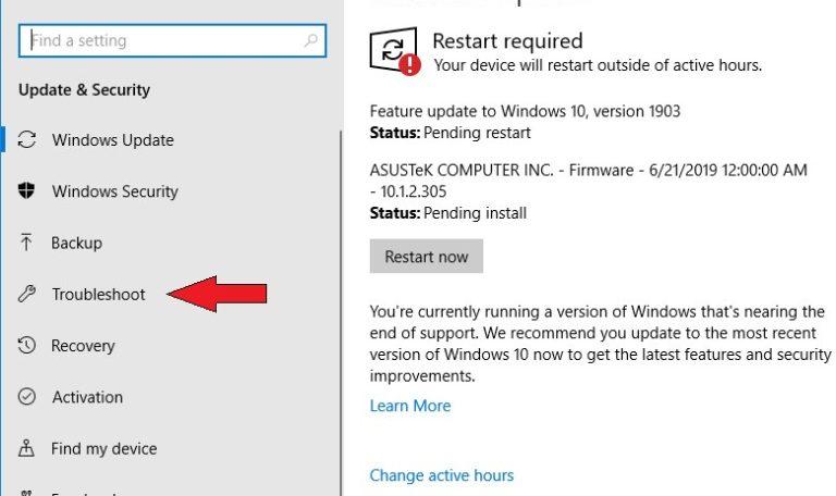 Устранение неполадок при активации Windows 10