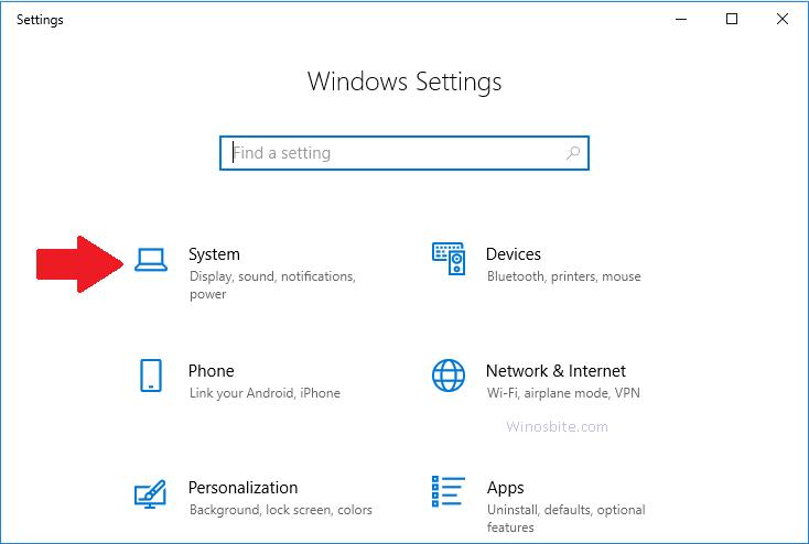 Настройки Windows
