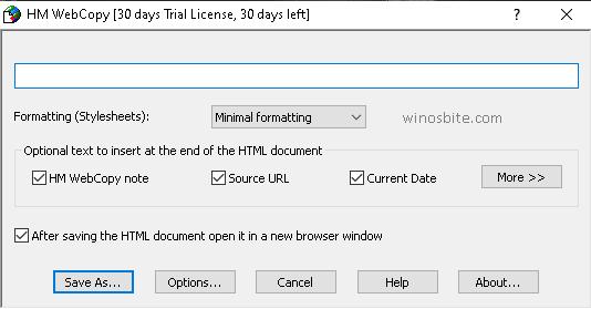 HM Webcopy