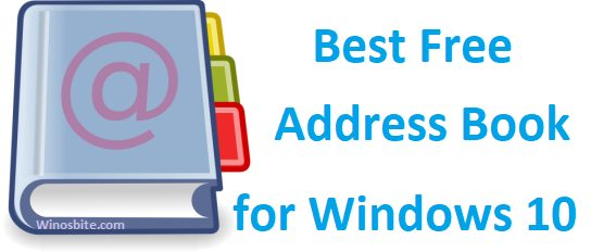 9 best free address book software for windows 10