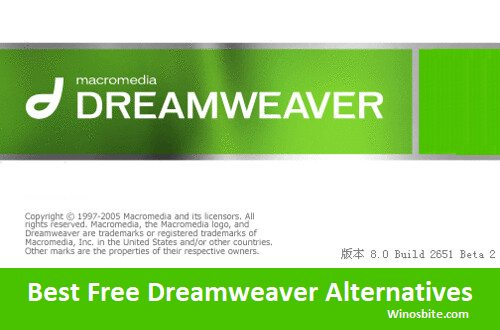6 Best Free Alternatives To Dreamweaver And Similar Software