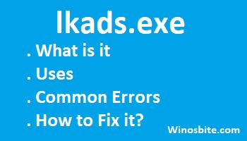 Информация о файле lkads.exe