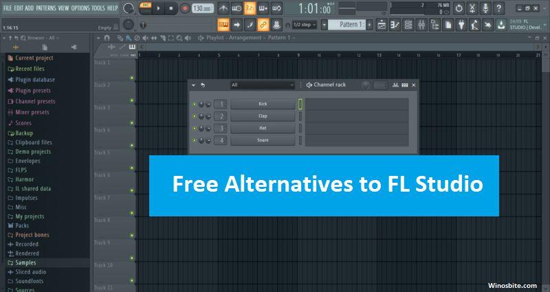 Альтернативы FL Studio для Windows