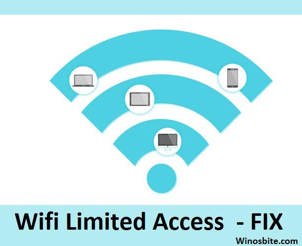 Ограниченный доступ Wi-Fi исправлен для Windows 10