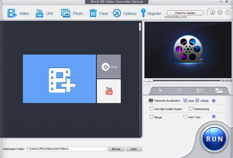 Конвертер видео Win X