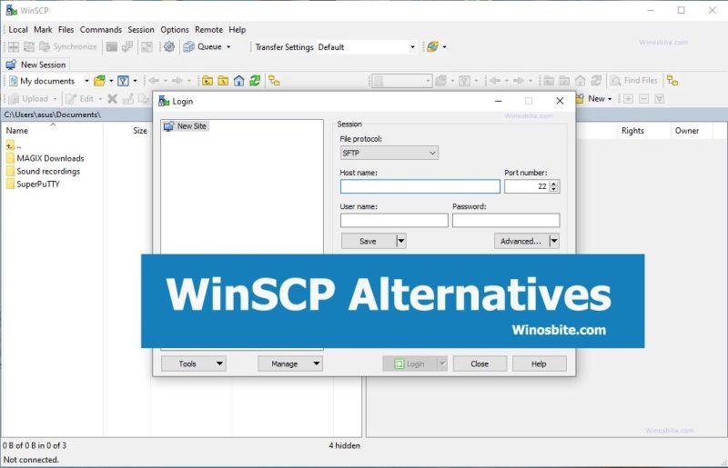 Альтернативы Winscp