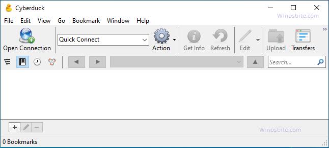Инструмент передачи файлов Cyberduck