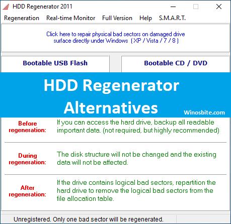 Регенератор HDD