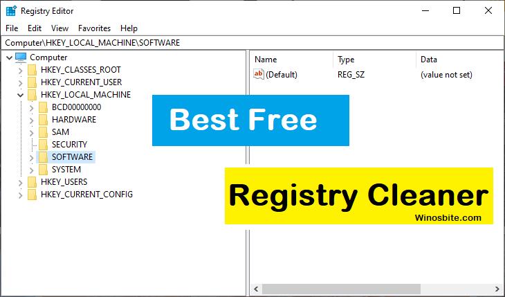 Лучший бесплатный очиститель реестра для Windows 10 и более ранних версий