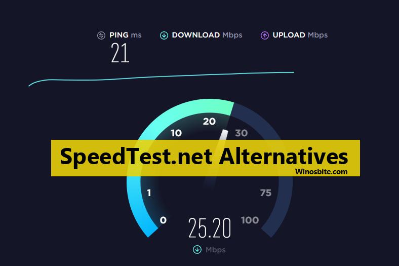 Лучшие альтернативы Speedtest для проверки скорости сети на веб-сайте и мобильном устройстве