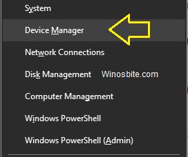 Диспетчер устройств в Windows 10