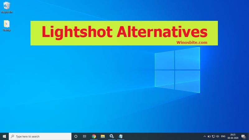 Бесплатные альтернативы Lightshot