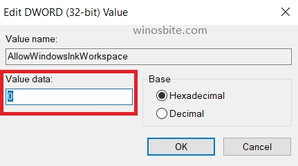 разрешить-Windows-чернила