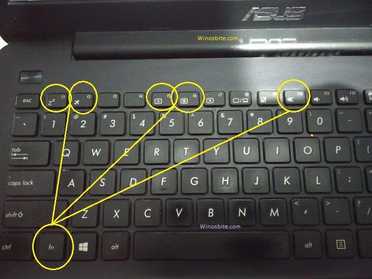 Функция сочетания клавиш atkosd2 asus