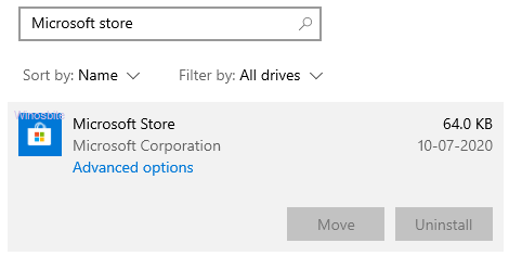 Корпорация Microsoft Store