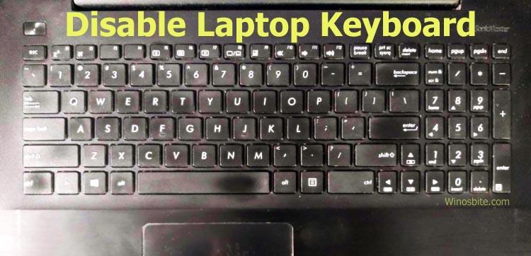 Отключить клавиатуру ноутбука asus