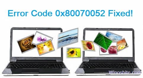 Код ошибки 0x80070052 исправлен.