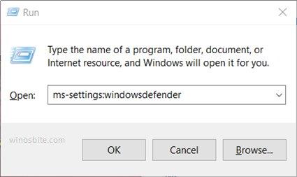 ms-настройка: windowsdefender
