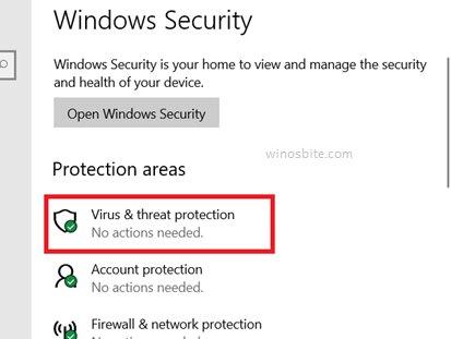 Защита от вирусов безопасности Windows