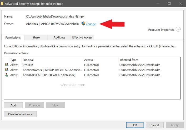 Дополнительные параметры безопасности Windows появляется