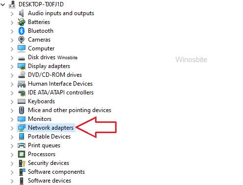 Сетевой адаптер в диспетчере устройств в Windows 10