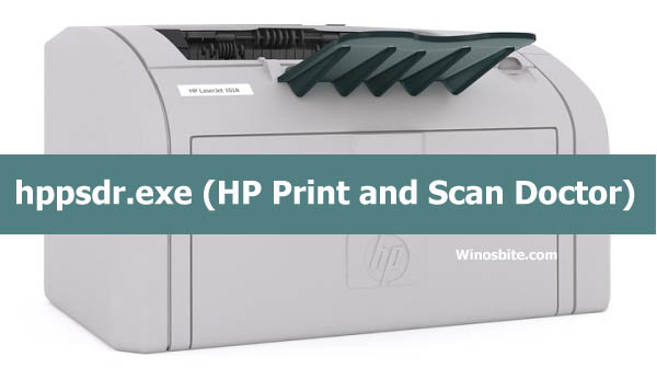 hppsdr.exe HP Print and Scan Doctor