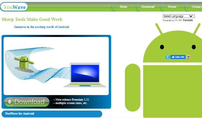 Эмулятор Android YouWave
