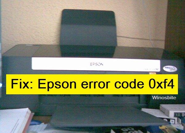 Исправить код ошибки epson oxf4