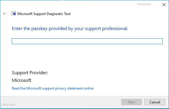 msdt.exe средство диагностики поддержки Майкрософт