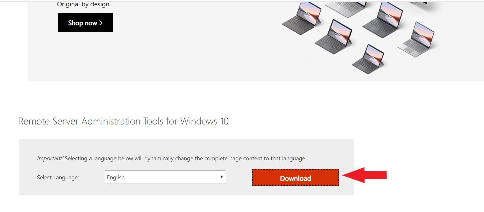 Кнопка загрузки браузера Windows